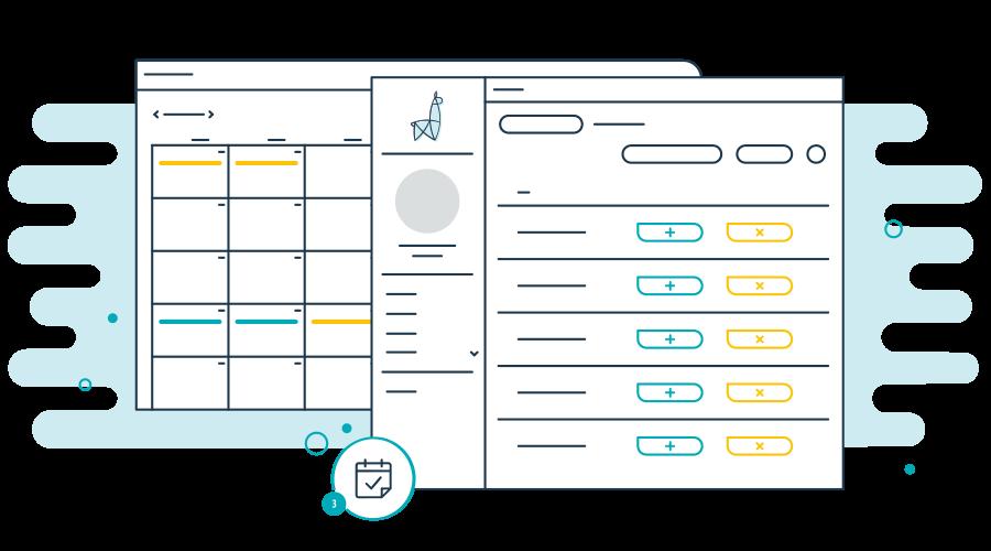 LlamaLink How It Works Access Shift Calendar