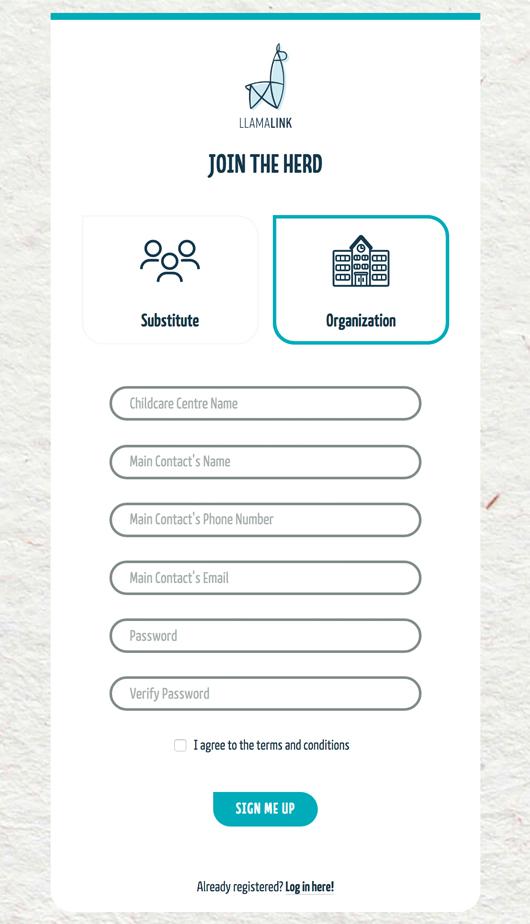 Llamalink Screenshot Join 1